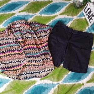 J. Crew city fit Bermuda shorts size 12